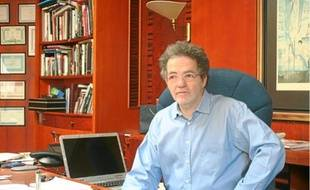 Andras Arato, le directeur de Klubradio, principale radio d'opposition.