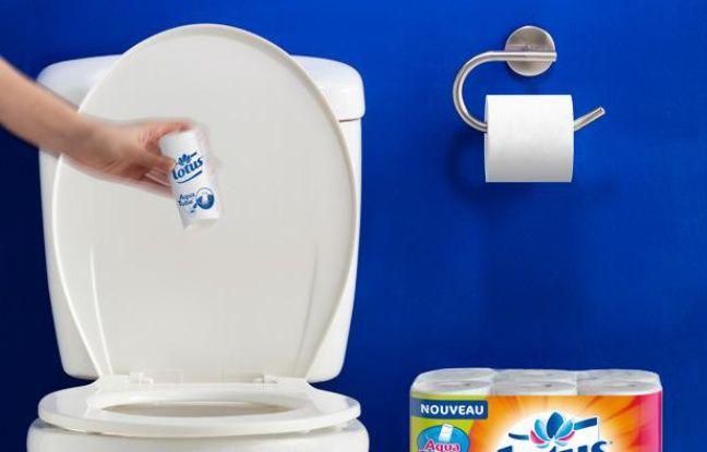 on a test le rouleau de papier toilette qui se jette dans