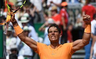 Nadal a battu Dimitrov en demi-finale à Monte-Carlo.
