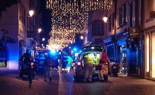 Un homme a ouvert le feu, mardi soir, dans le centre ville de Strasbourg
