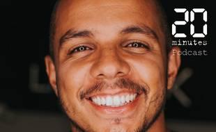 Illustration d'un homme souriant, joyeux