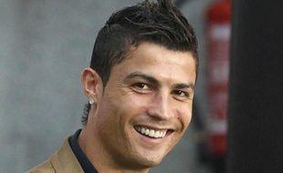 Le footballer portugais Cristiano  Ronaldo à Madrid en Espagne, en octobre 2011.