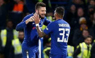 Olivier Giroud revit à Chelsea