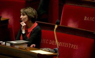 La ministre la Santé Marisol Touraine à l'Assemblée Nationale, le 1er décembre 2015