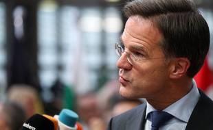 Le premier ministre libéral des Pays-Bas, Mark Rutte. (archives)