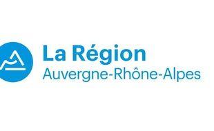 Le nouveau logo de la région Auvergne-Rhône-Alpes a été dévoilé mardi 27 septembre 2016.