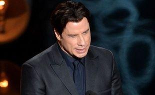 John Tavolta lors de la cérémonie des Oscars le 2 mars 2014