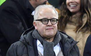 Fritz Keller, ici en 2019, a démissionné le 12 mai 2021 de la présidence de la Fédération allemande de football.