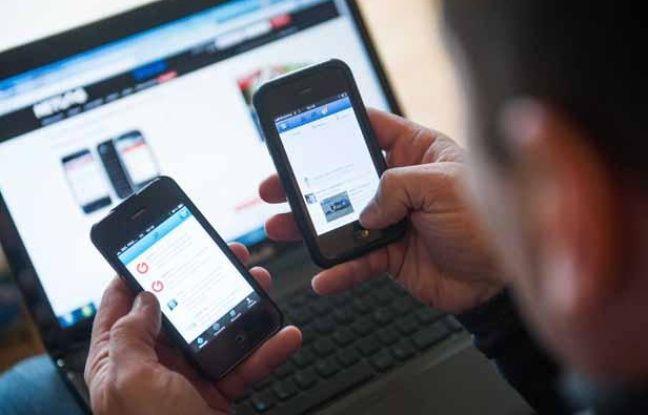 Illustration: Internet, les réseaux sociaux.
