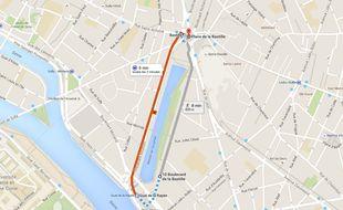 Le parcours de la manifestation du 23 juin devrait se concentrer autour du bassin de l'Arsenal.