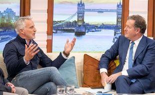 David Ginola dans l'émission «Good morning Britain», le 16 octobre 2017.