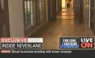 """Le """"fantôme"""" de Michael Jackson a été filmé par les caméras de CNN à Neverland, le 2 juillet 2009."""