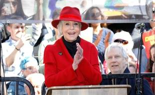 L'actrice Jane Fonda lors du Fire Drill Fridays à Los Angeles le 7 février dernier