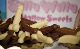 Photo d'illustration de pénis en chocolat