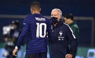 Mbappé pourrait jouer contre le Portugal en Ligue des nations.