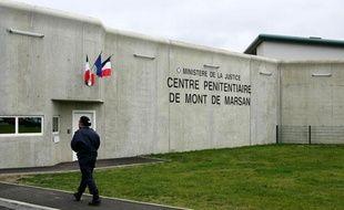 À l'intérieur du nouveau centre pénitentiaire de Mont-de-Marsan (Photo prise le 20 novembre 2008 lors de l'inauguration)