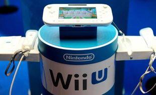 La Wii U de Nintendo présentée à la Paris Games Week, le 31 octobre 2012.