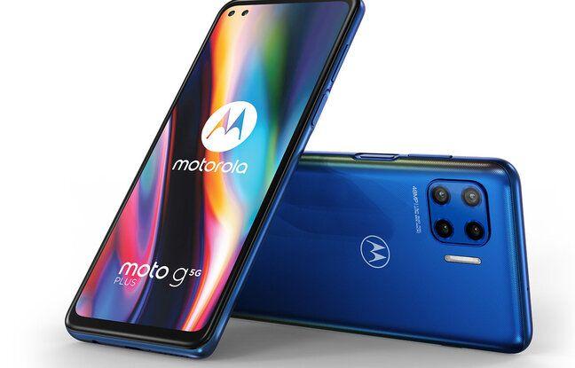 Le Motorola g5 G Plus compatible... 5G.