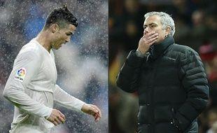 Cristiano Ronaldo et José Mourinho (photomontage) sont accusés d'évasion fiscale dans l'affaire Football Leaks.