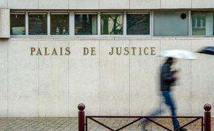 Façade du palais de justice de Lille, le 27 janvier 2015