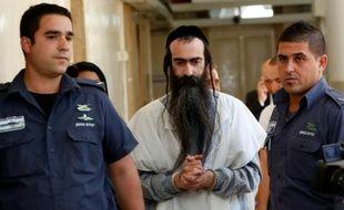 Yishai Shlissel le 31 juillet 2016 à Jérusalem