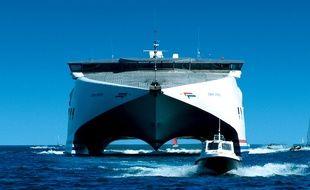 La compagnie Condor Ferries compte une flotte de cinq navires.