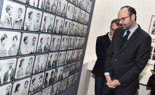 Edouard Philippe a prononcé son discours au Musée national de l'histoire de l'immigration à Paris, le 19 mars 2018.