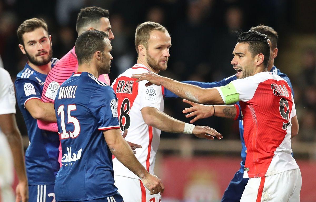 L'électrique match du 18 décembre 2016 à Louis II ne semble qu'un lointain souvenir entre Monégasques et Lyonnais. – V. Hache / AFP