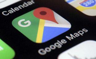 Google Maps affichera les lieux les plus fréquentés à l'aide de pastilles rouges.