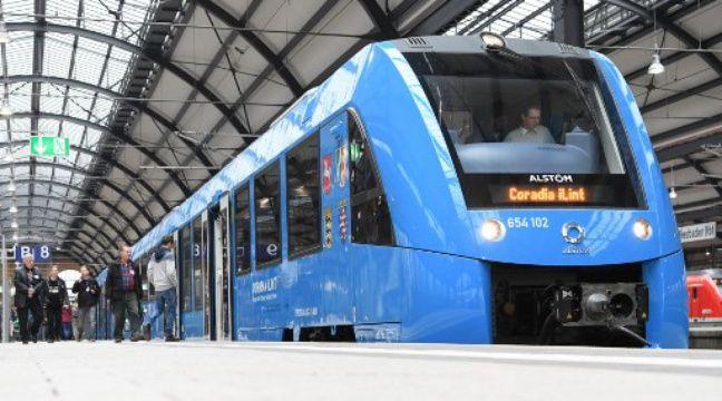 Alstom propose un train à hydrogène aux régions françaises