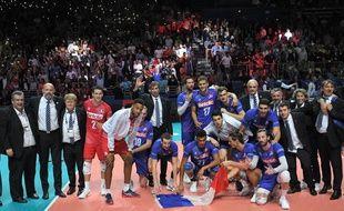 La joie des Français après le succès (3-0) en quart de finale de l'Euro contre l'Italie.