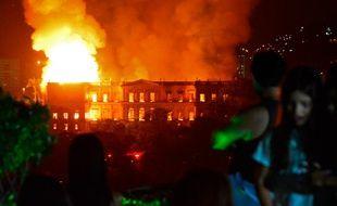 L'incendie a ravagé tout sur son passage, dans cette institution vieille de 200 ans.