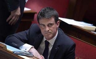 Manuel Valls à l'Assemblée Nationale, le 25 mars 2015