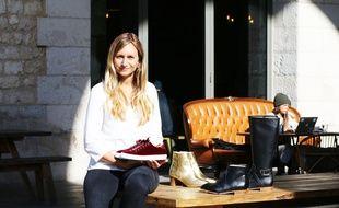 La Bordelaise Marie-Viard Klein a créé Minuit sur Terre, une marque de chaussures vegan.