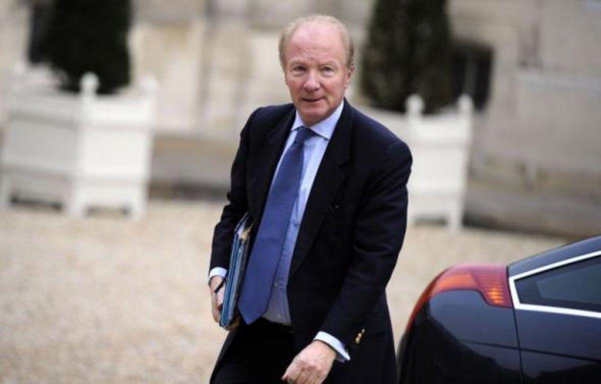 Le ministre de l'Intérieur et de l'Immigration Brice Hortefeux à l'Elysée, le 17 novembre 2010 – Lionel Bonaventure afp.com