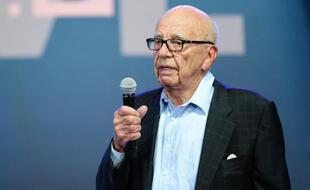 Rupert Murdoch le 19 octobre 2015 à Laguna Beach, en Californie