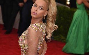 La chanteuse Beyoncé au Met Gala