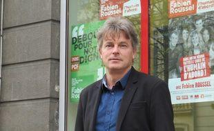 Fabien Roussel, secrétaire fédéral du PCF.