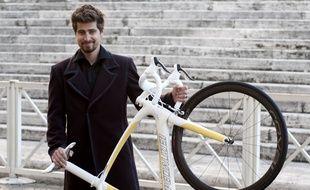 Peter Sagan et son joli vélo jaune