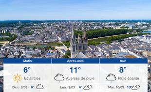 Météo Angers: Prévisions du samedi 7 mars 2020