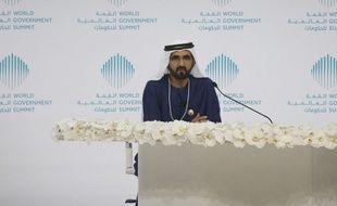 L'émir de Dubaï Mohammed ben Rashid Al Maktoum, le 12 février 2017.
