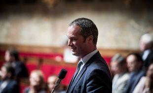 Stéphane VIRY. Séance des Questions d'actualité au Gouvernement, Palais Bourbon, Assemblée Nationale, Paris, France, le 20 Juin 2018