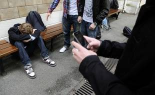 Un jeune lycéen belge, vitctime de harcèlement, s'est suicidé (illustration).