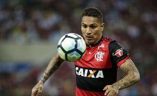 Guerrero avec son club, Flamengo
