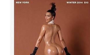 "Kim Kardashian pose nue pour ""Paper Magazine"""