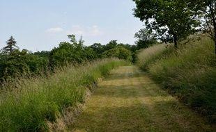 Le parc des coteaux, sur la rive droite de Bordeaux.