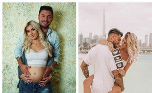 Carla et Kevin et Jessica et Thibault, couples formés grâce aux «Marseillais» attendent chacun un bébé.