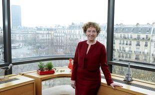 Muriel Pénicaud le 21 février 2017, en poste à Business France.