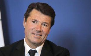 Le député-maire uMP de Nice Christian Estrosi, le 6 juin 2013.