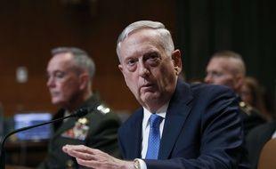 Le secrétaire américain à la Défense Jim Mattis à Washington, le 22 mars 2017.
